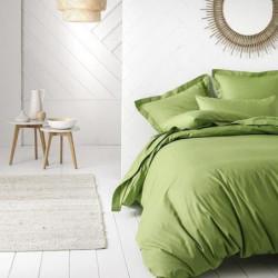TODAY Drap plat 100% coton - 240x300 cm - Bambou
