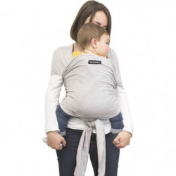 SUAVINEX - echarpe de portage - gris