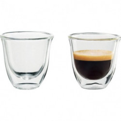 DELONGHI Lot de 2 tasses Espresso - 6 cl