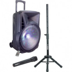 BOOST15-6121BO Enceinte Sono portable - 600W - Bluetooth - K