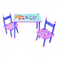 Fun House Pat Patrouille fille table+2 chaises pour enfant