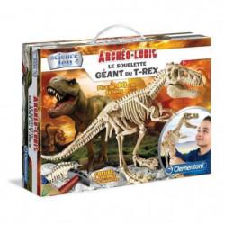 CLEMENTONI Archéo Ludic - Le Squelette Géant du T-Rex - Scie