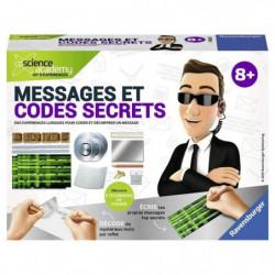 SCIENCE X RAVENSBURGER Mini Messages et Codes Secrets Jeu Ed