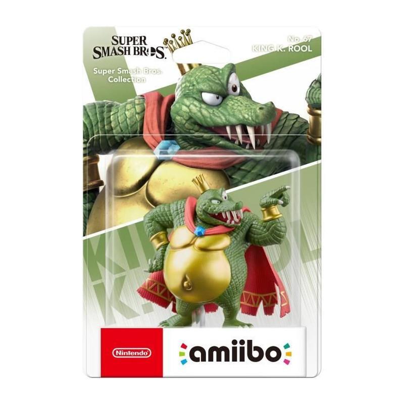 Figurine Amiibo N67 King K Rool Collection Super Smash Bro