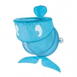 LUDI Grand Filet de bain et de rangement Baleine Bleue