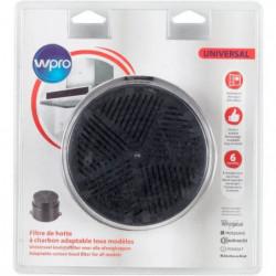 WPRO UNF001 Filtre de hotte a charbon universel (adaptable t