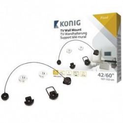 König support mural ultra plat 37-60? / 94-152 cm - 35 kg