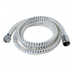 Flexible de douche Biflex 2m blanc / chromé