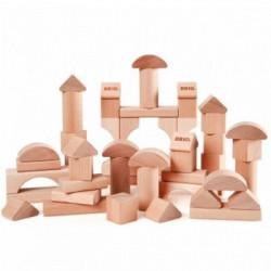 BRIO - 30113 - Blocs De Construction Naturels - 50 Pces