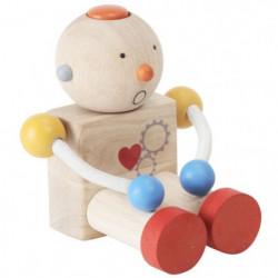 PLAN TOYS Jeu en bois Robot transformeur