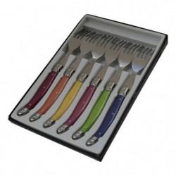 PRADEL EXCELLENCE Boîte de 6 fourchettes Laguiole - Acier in