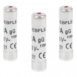 DEBFLEX Lot de 3 Fusibles 8,5x31,5 20 A