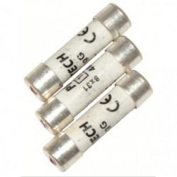 VOLTMAN Pack 3 Fusibles avec voyant de fusion 8,5 x 31,5 mm