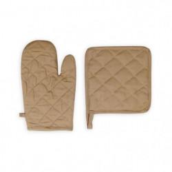 SOLEIL D'OCRE Gant et manique Panama - 15x20 cm / 20x20 cm -