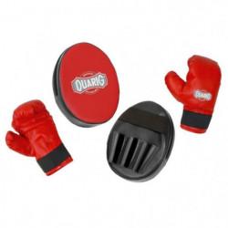 DUARIG Training Kit Boxing Academy - Noir et rouge