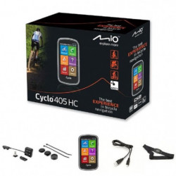 MIO GPS vélo 405 HC WEU - Processeur ARM Cortex-A7 - GPS Chi