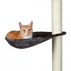 TRIXIE Hamac - Nid XL pour griffoir pour chat gris platinium