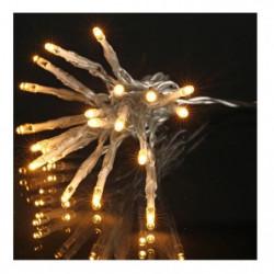 Guirlande de Noël LED extérieure filaire PVC et cuivre - 8 m