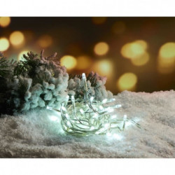Guirlande de Noël 100 LED intérieure clignotante 5 mm - L 3