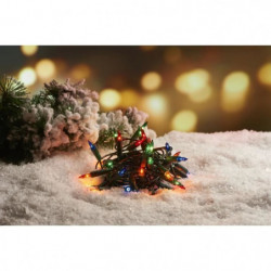 Guirlande de Noël incandescente 50 ampoules - 6,25 m - Multi