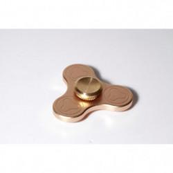 FINGER SPINNER 3 Prong Gold - Hand Spinner