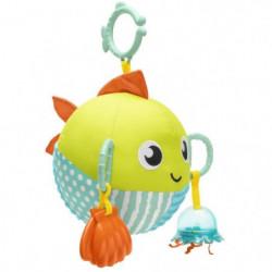 FISHER-PRICE - Mon Poisson d'Activités - Jouet d'éveil - 3 m