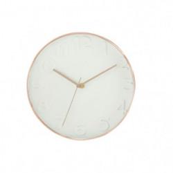 Horloge murale ronde diametre 30,5 cm Blanc