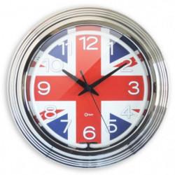 MUNDUS Horloge Neon London - Eclairage cadran - Ø 38 cm