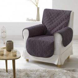 DOUCEUR d'INTERIEUR Protege fauteuil matelassé 165x179 cm Cl