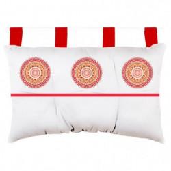SOLEIL D'OCRE Tete de lit Mandala en coton - 45x70 cm - Oran