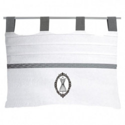 SOLEIL D'OCRE Tete de lit brodée déhoussable Boudoir - 45x70
