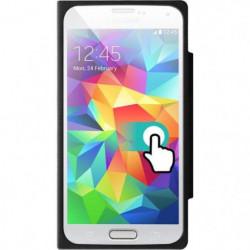 COLORBLOCK Etui a rabat pour Samsung Galaxy S5 - Noir