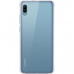HUAWEI Coque souple transparente pour Huawei Y6 2019