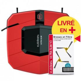 EZIclean Ultra Slim Red  V2, Aspirateur Robot
