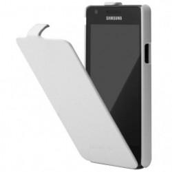 Anymode  Etui cuir Galaxy SII NFC Blanc