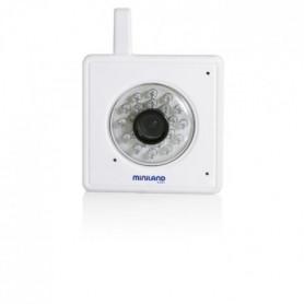 MINILAND BABY Camera Everywhere Ipcam  - Blanc