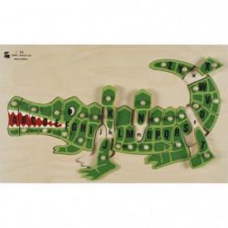 BSM Jouet d'encastrement ABC L'Alligator