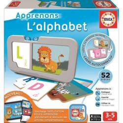 EDUCA Apprenons - L'Alphabet - Jeu éducatif