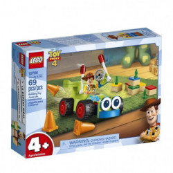 LEGO 4+ TOY STORY? 10766 Woody et RC - Disney - Pixar