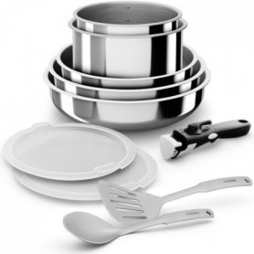 BACKEN Set de Batteries de cuisine - Inox