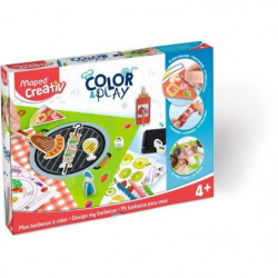 MAPED CREATIV - Color&Play - Mon Barbecue a Créer
