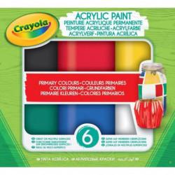 CRAYOLA Peinture acrylique Crayola - Primary Colours