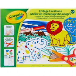 CRAYOLA - Atelier de Découpages & Collages
