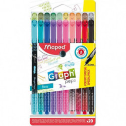 MAPED 20 Feutre Fin Graph Peps Format Special