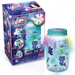 CANAL TOYS - SO GLOW DIY -  Grande Magic Jar Kit - Crée ta M