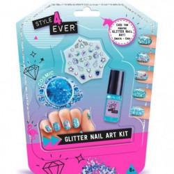 CANAL TOYS - STYLE 4 EVER - Mini Glitter Nail Art Kit - Stic