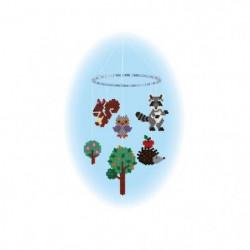 "HAMA Boîte de perles moyennes ""Forest Animals"""