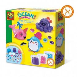 SES CREATIVE Pâte a modeler Amis de l'ocean