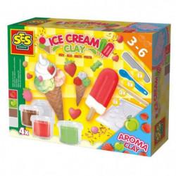 SES CREATIVE Pâte a modeler - Fabrication des glaces