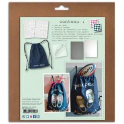 TOGA Kit Custo Facile - Sac et accessoires a customiser - En